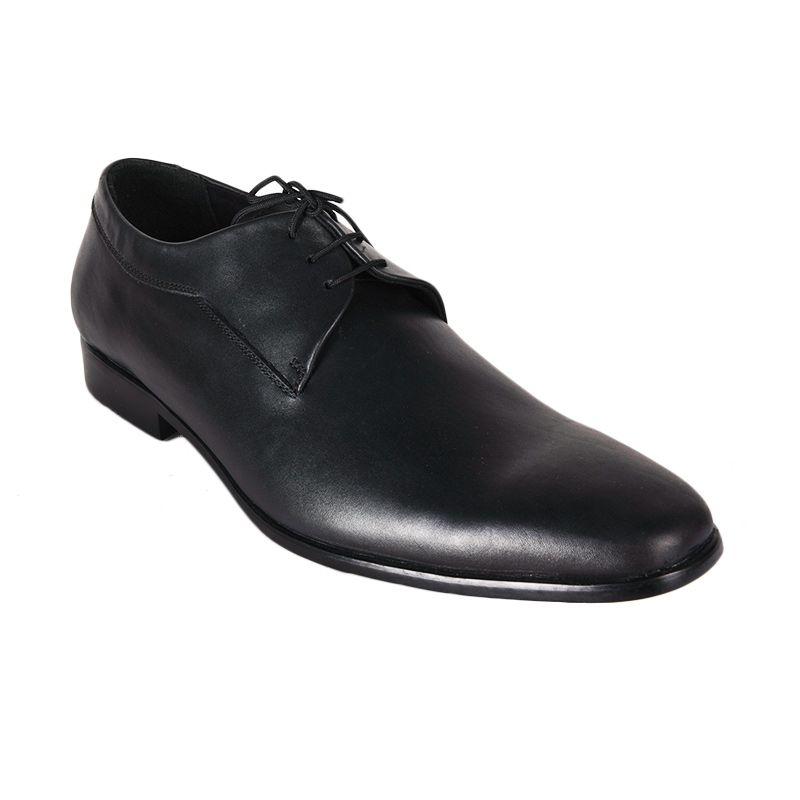 Marco Cuomo Formal HP 001 Black Sepatu Pria