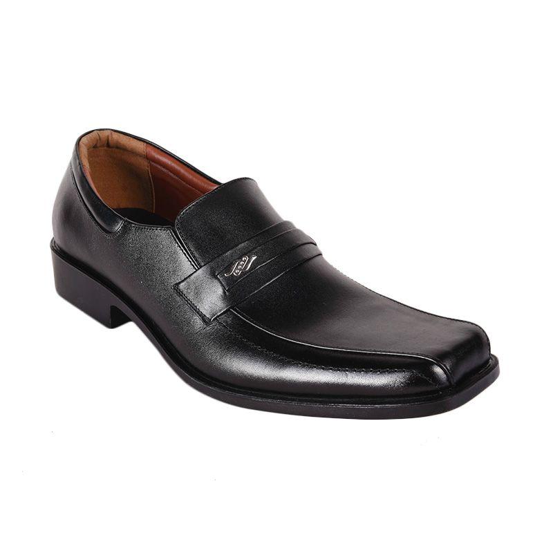 Marco Cuomo Formal NR 992 Black Sepatu Pria