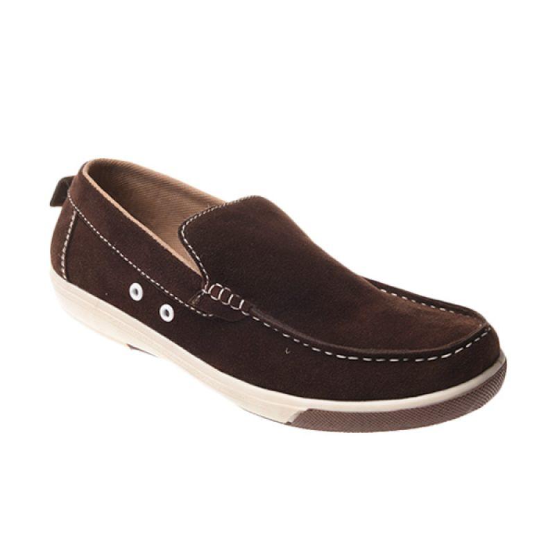 Marco Cuomo Casual 002 Brown Sepatu Pria