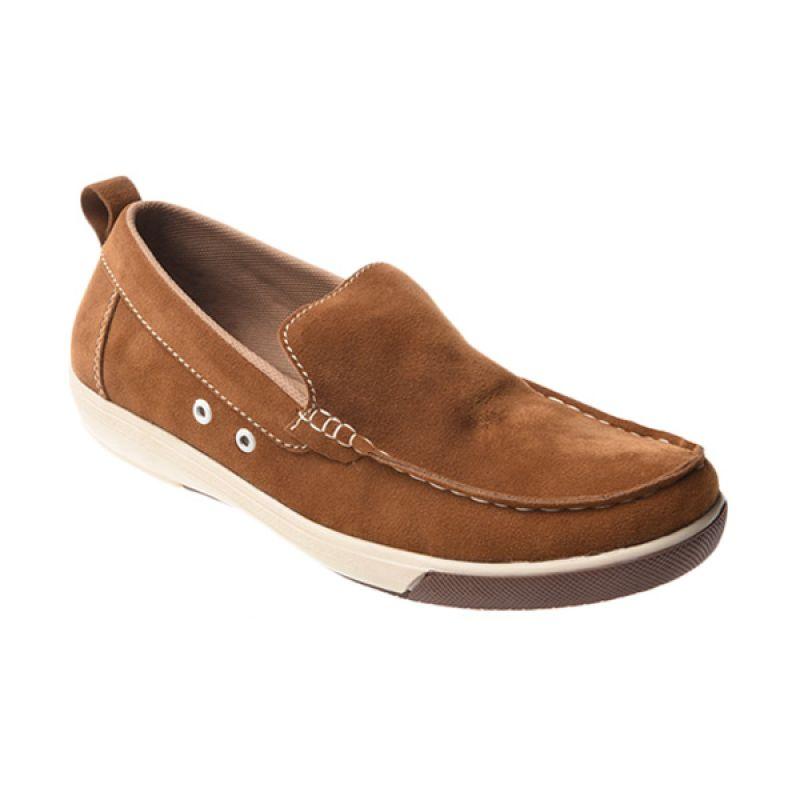 Marco Cuomo Casual 002 Tan Sepatu Pria