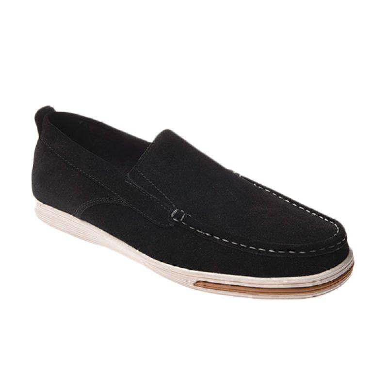 Marco Cuomo Casual V 305 Black Sepatu Pria