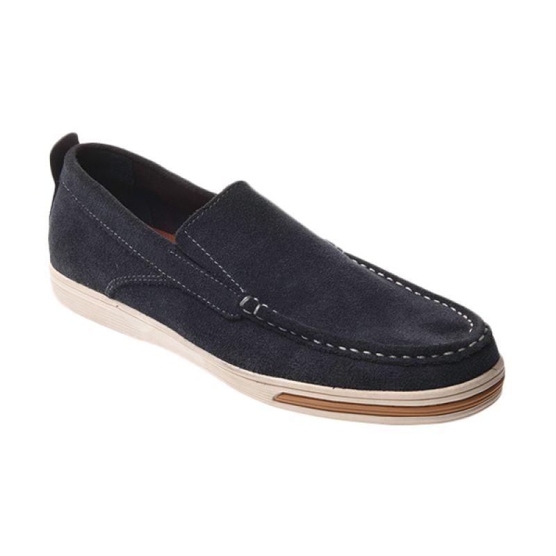 Marco Cuomo Casual V 305 Navy Sepatu Pria