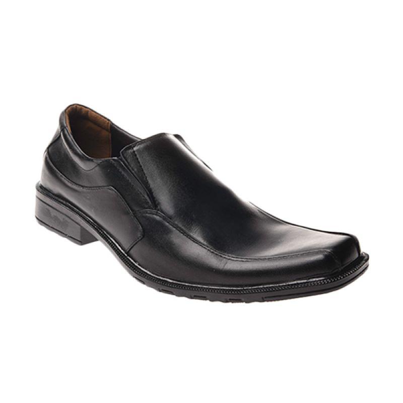 Marco Cuomo Formal L 112 Black Sepatu Pria