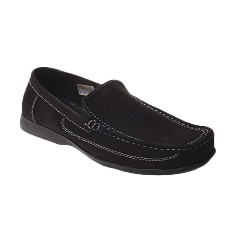 Marco Cuomo Formal N 814 Black Sepatu Pria