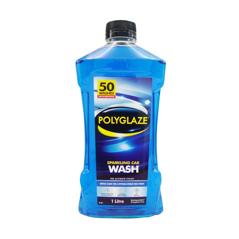 Polyglaze Sparkling Cairan Pembersih Mobil [1 Liter]