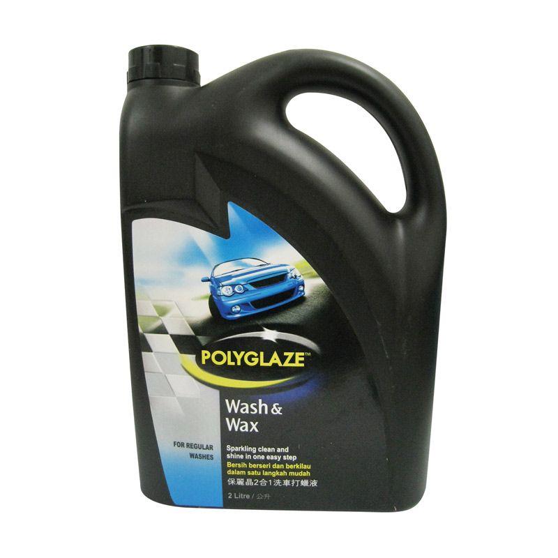 Polyglaze Wash & Wax Cairan Pembersih Mobil [2 Liter]