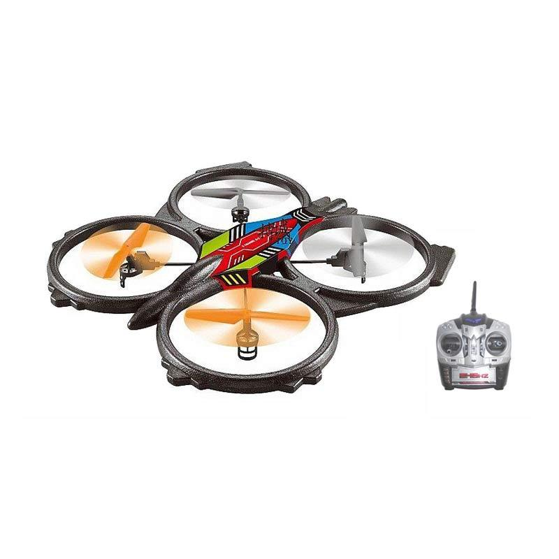 Airfun AF906 Mainan Remote Control (RC) Quadrocopter 6 Axis - 2.4 GHz Giant Drone