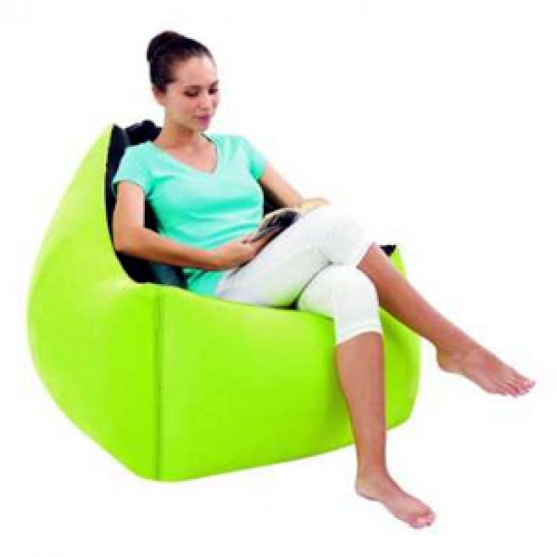 Moda Inflatable Chair - Vibrant Green