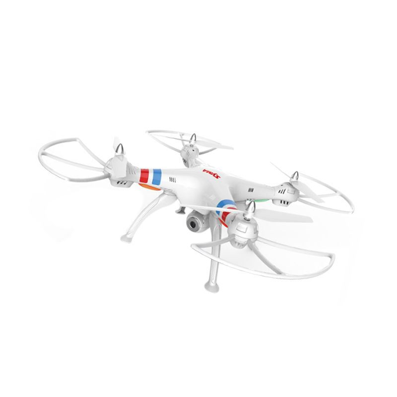 SYMA X8C Venture Headless Mode 6 Axis Drone Putih Mainan Remote Control [2 MP Wide Angle Camera]