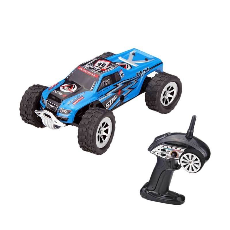 WL A999 Blue 1:24 - 25 Km/H RC Racing Monster Truck
