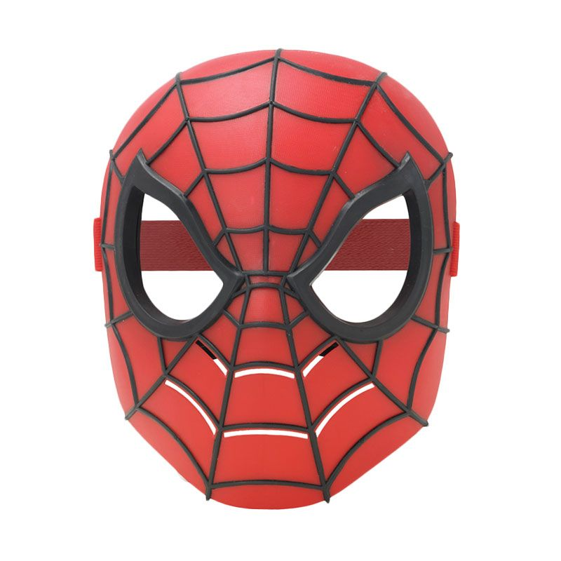 Marvel Basic Hero Mask Ultimate Spider-Man Red Mainan Anak
