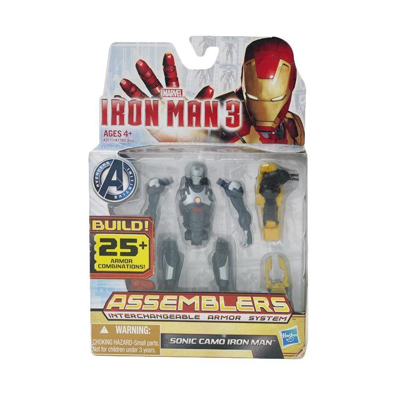 Marvel Iron Man 3 Assembler Figure Sonic Camo Mainan Anak