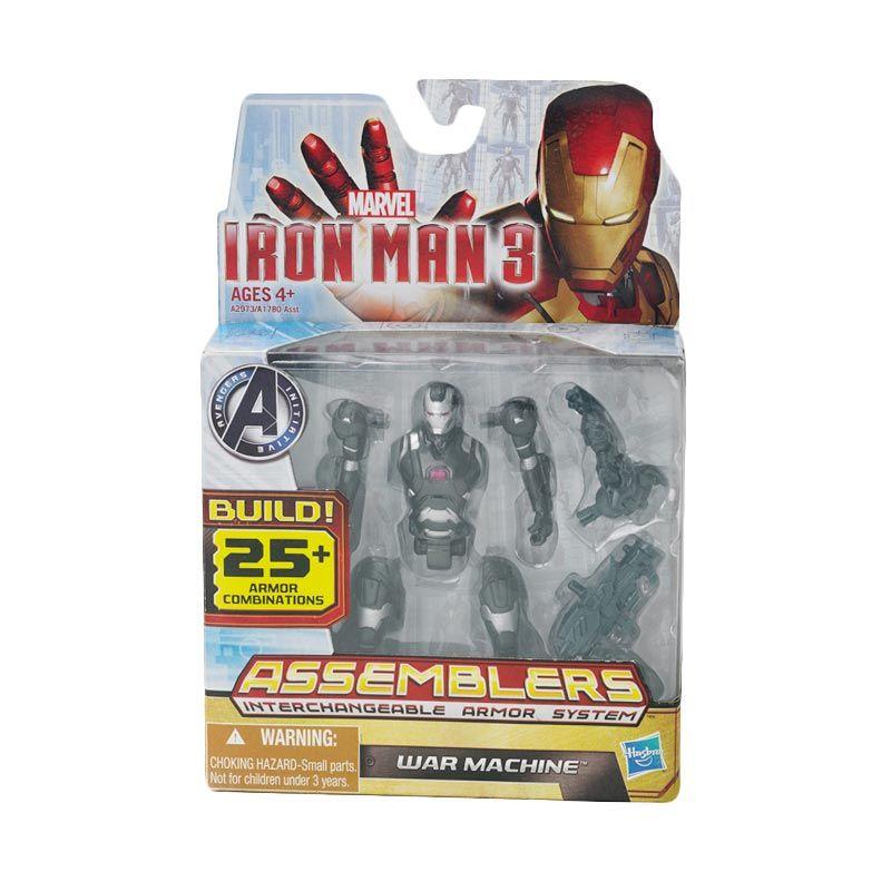 Marvel Iron Man 3 Assembler Figure War Machine Mainan Anak