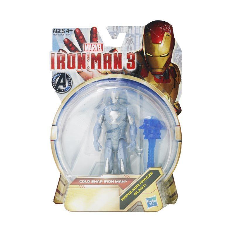 Marvel Iron Man 3 Figure Cold Snap Mainan Anak