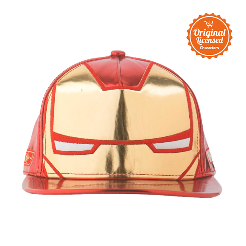 Marvel Snapback Iron Man Glow In the Dark Cap Topi Anak