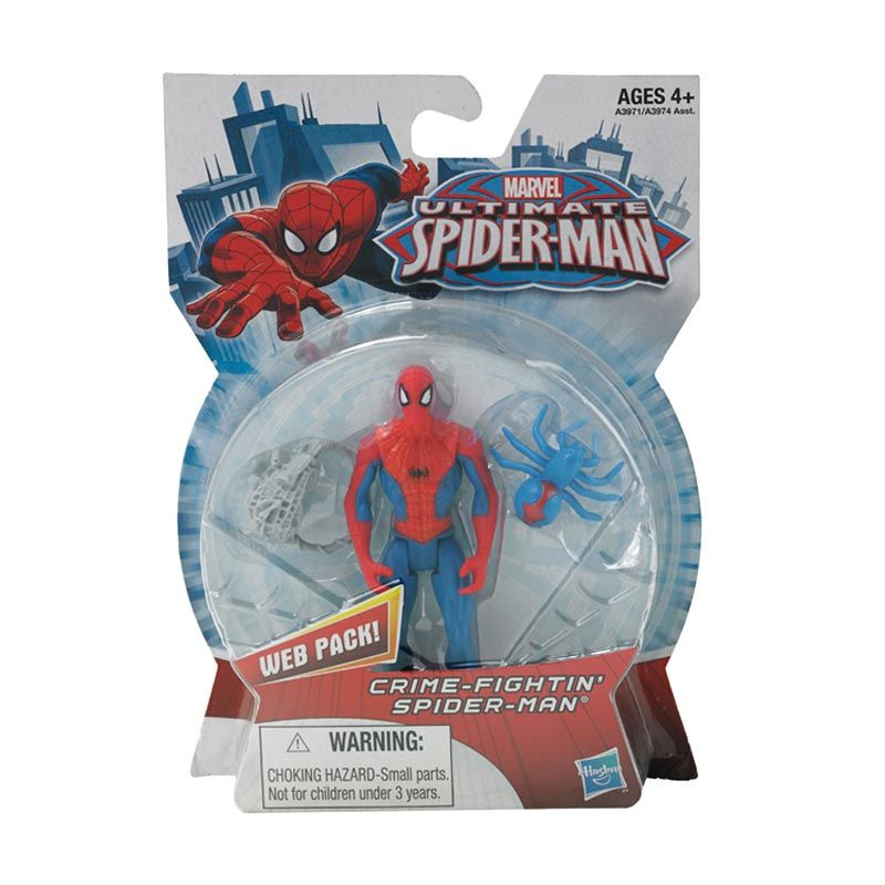 Marvel Ultimate Spider-Man Action Crime Fighting Mainan Anak