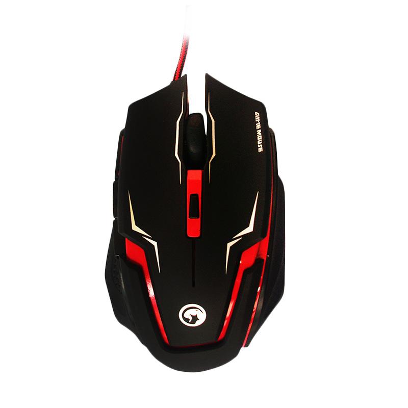 Marvo Scorpion Sting M319 Merah Gaming Mouse