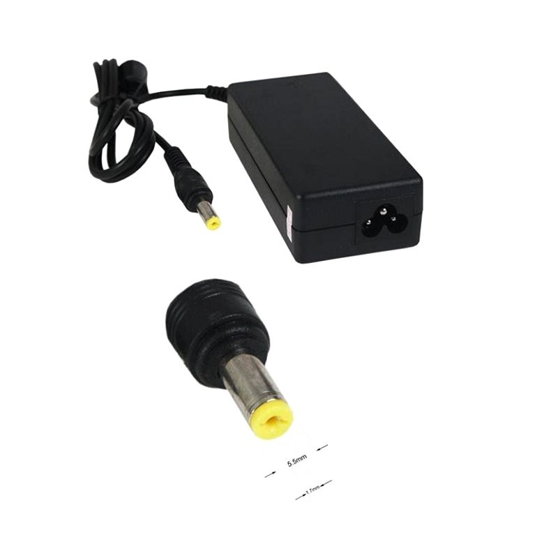 Acer 1153 Kuning Adaptor Charger Laptop [19V/3,42 A/5,5mm x 1,7mm]