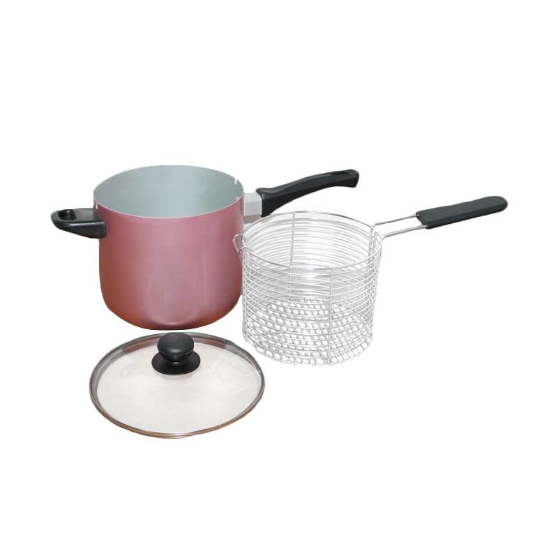 Jual Maspion Multi Deep Fryer Penggorengan Serba Guna [18 cm] Online - Harga & Kualitas Terjamin | Blibli.com