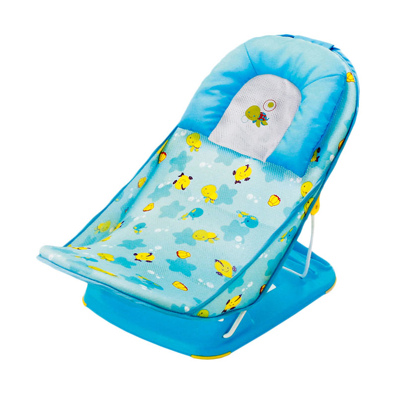 Mastela Mothers Touch Deluxe Baby Bather - Light Blue
