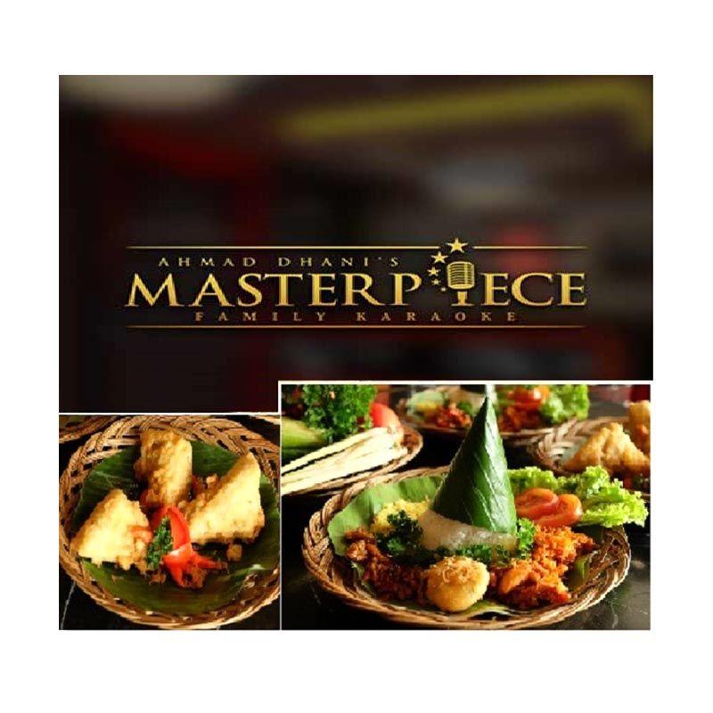 Masterpiece - Paket B Food & Beverage Voucher