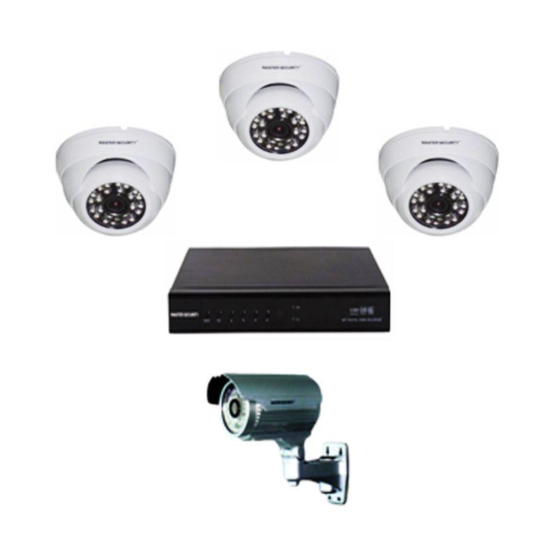 Master Security Paket Kamera CCTV [4 Channel]