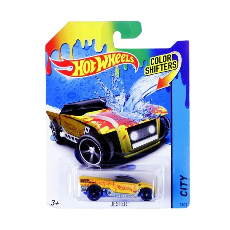 Mattel Hot Wheels Color Shifters Jester Mainan Anak