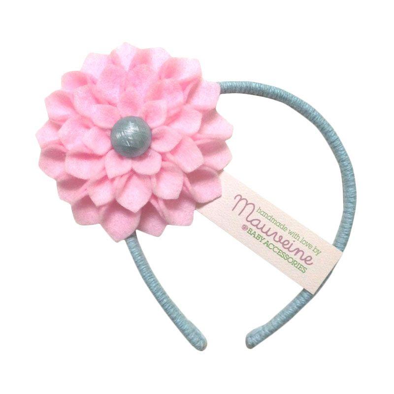 Mauveine Headband Hibiscus Pink