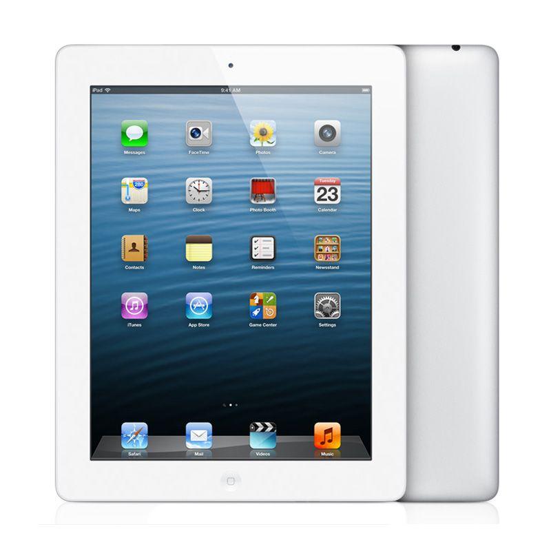 Apple iPad 4 16 GB Putih Tablet [Wifi + Cellular]