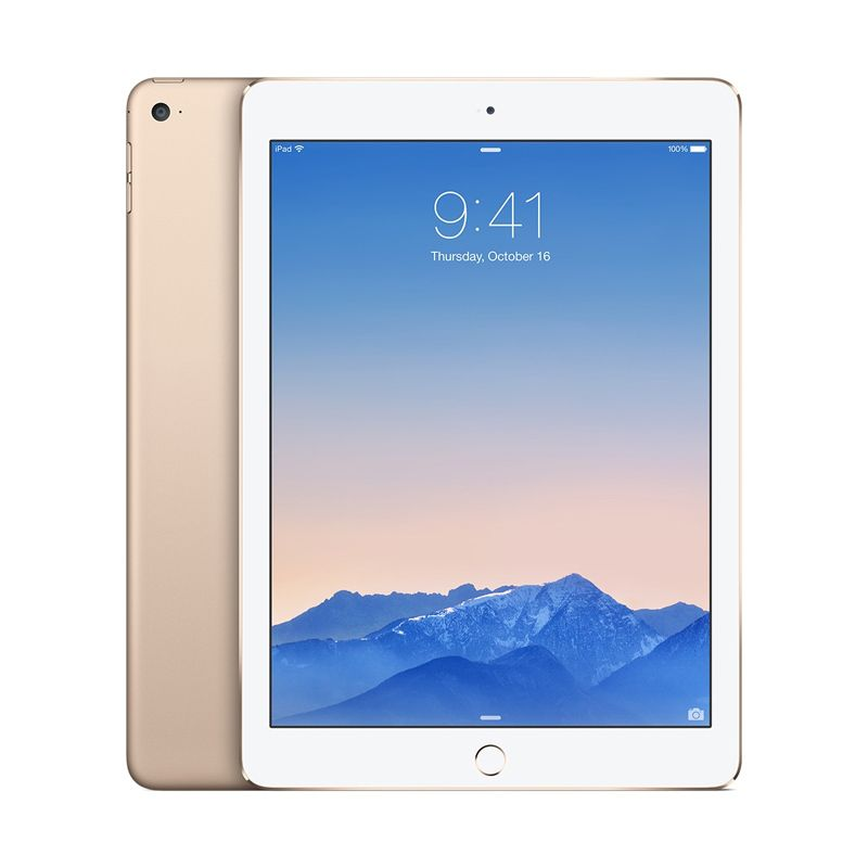 Apple iPad Air 2 16 GB Gold Tablet [Wifi + Cellular]