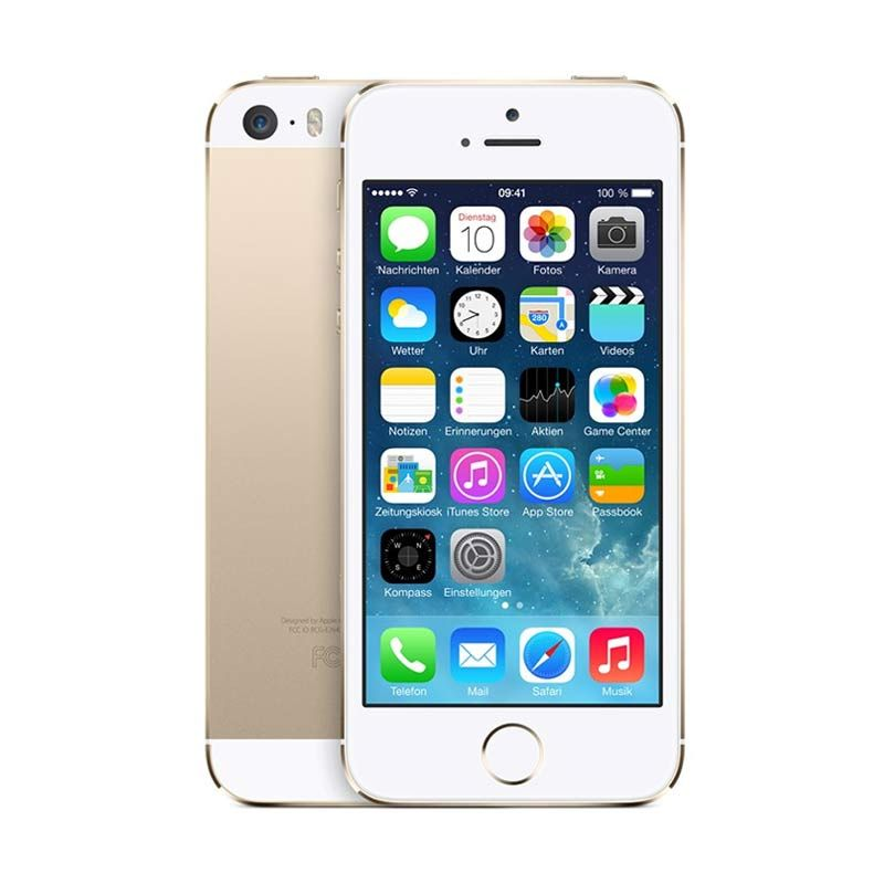 Apple iPhone 5S (Refurbish) Gold 64 GB