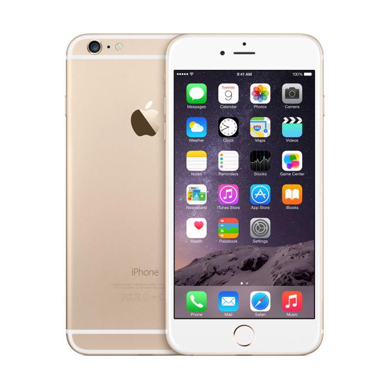 Apple iPhone 6 Plus 128 GB Gold Smartphone(Refurbish)