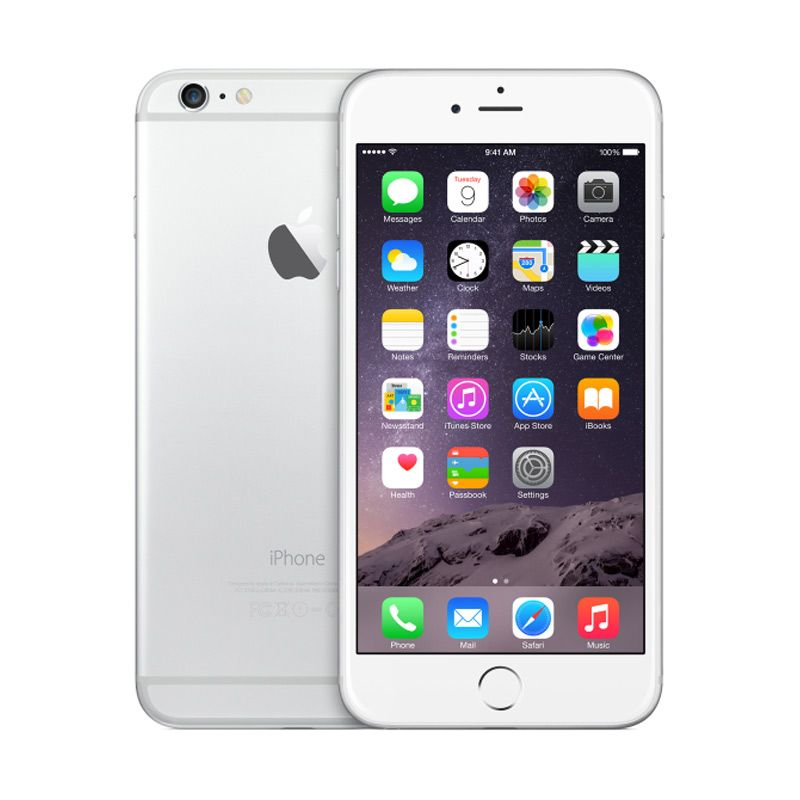 Apple iPhone 6 Plus 16 GB Silver Smartphone
