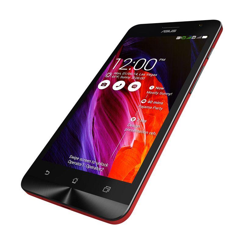 Asus Zenfone 6 Merah Smartphone