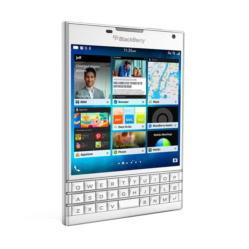 BlackBerry Passport Putih Smartphone
