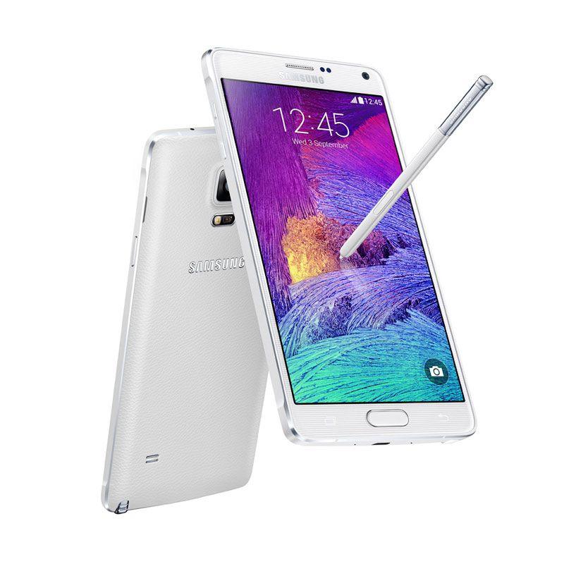 Samsung Galaxy Note 4 Putih Smartphone