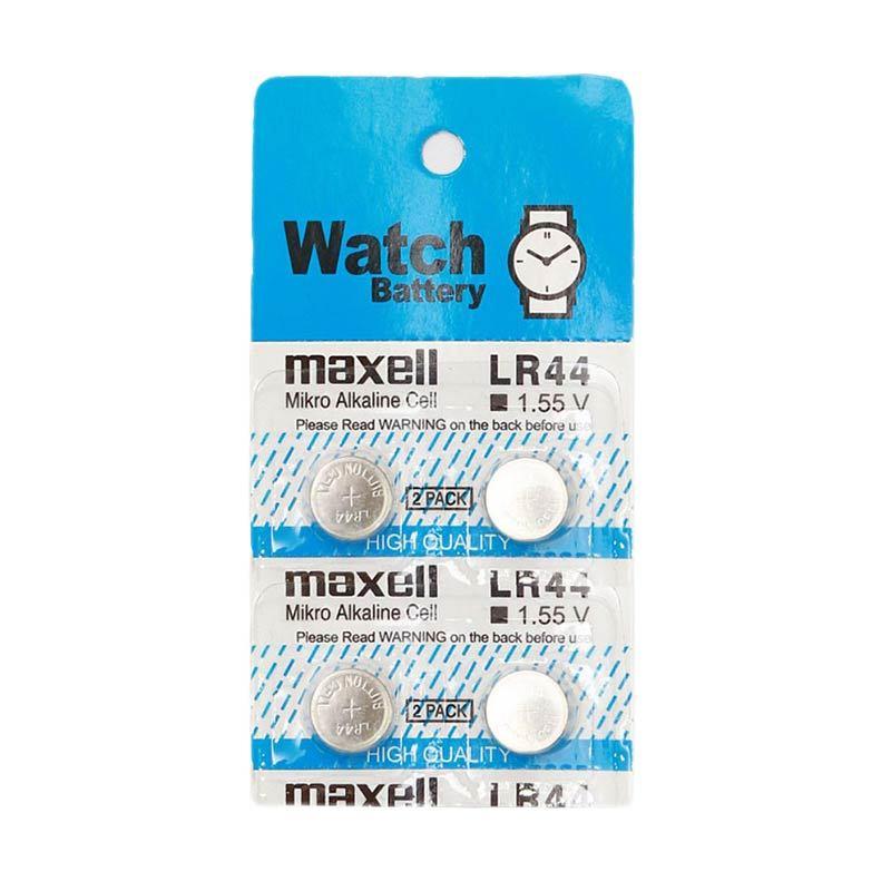 Maxell LR44 Baterai Kancing