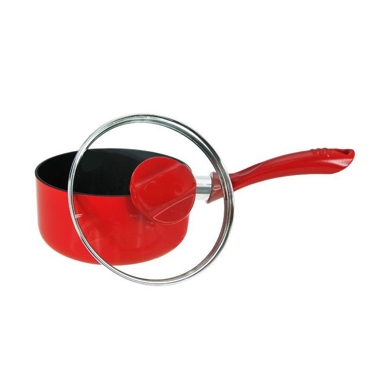 harga Maxim New Eleganza Red Saucepan 16cm/1.5L - Panci Blibli.com