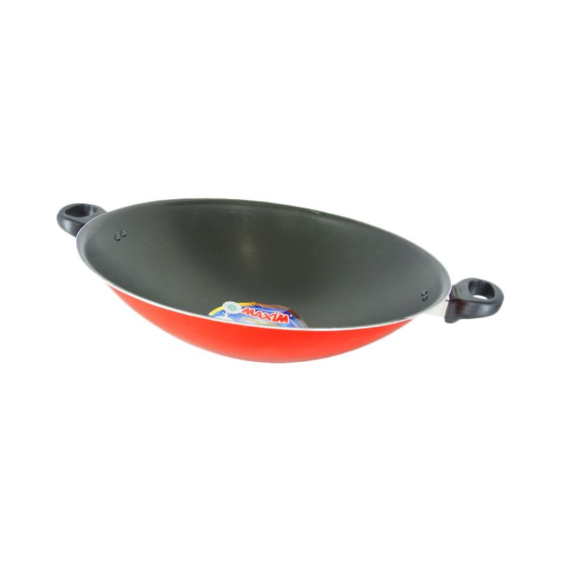 jual maxim valentino wok 36 cm online   harga amp kualitas