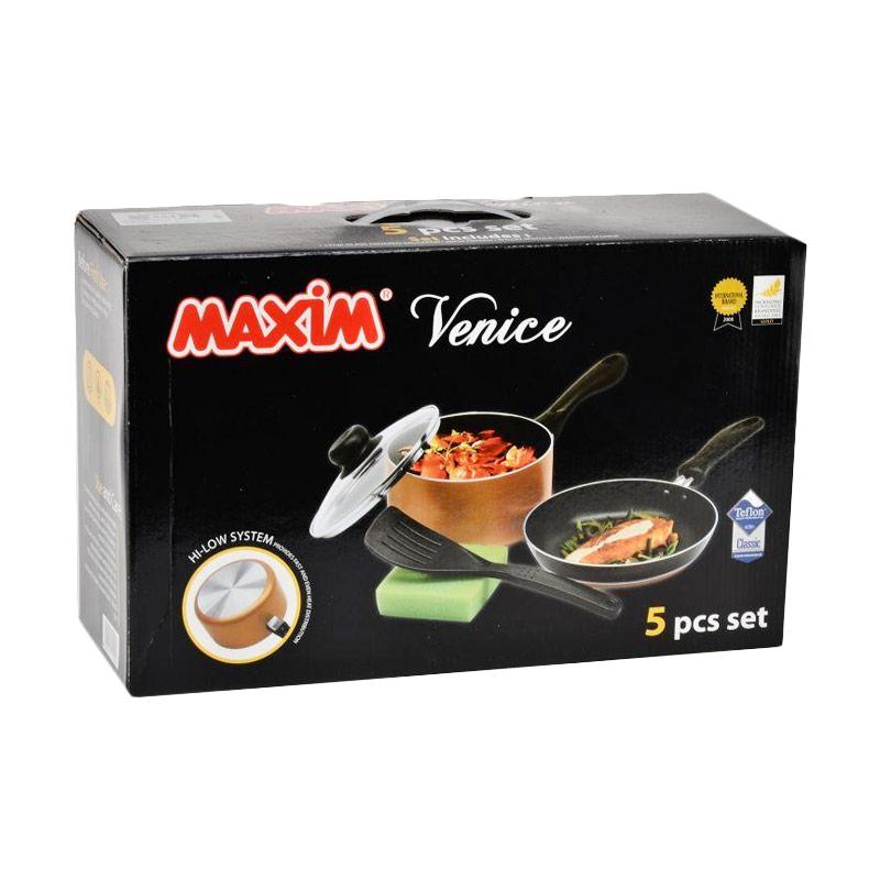Jual Maxim Venice Set Alat Masak 5 Pcs Online