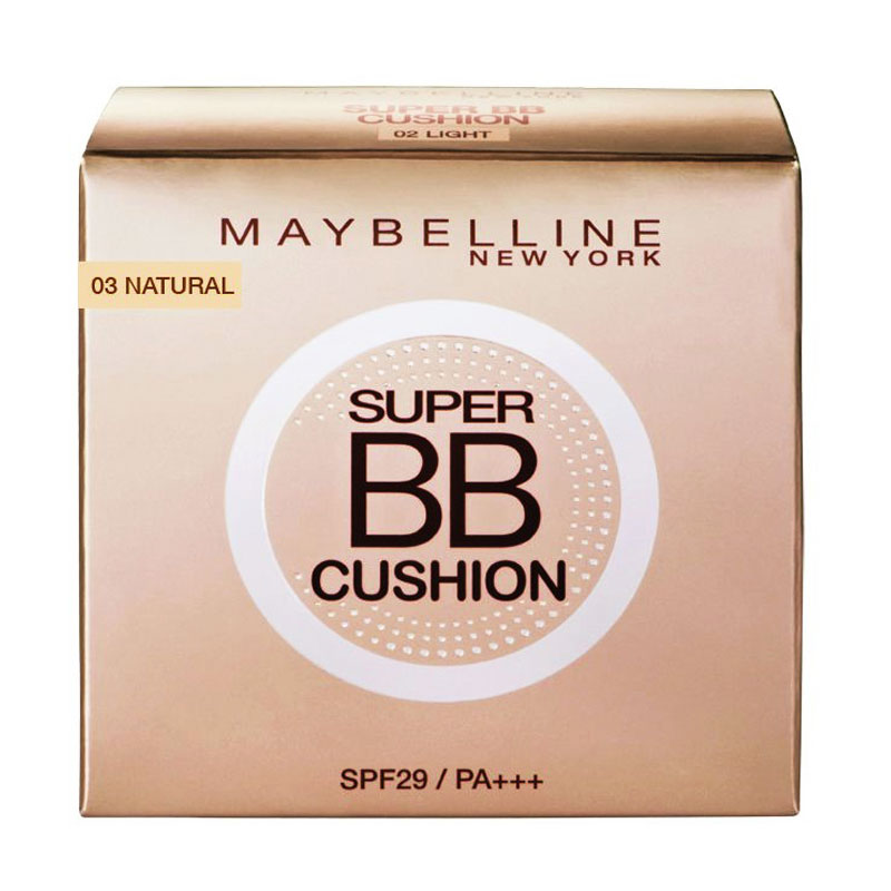 Maybelline Super BB Cushion Foundation N Concealer - Natural