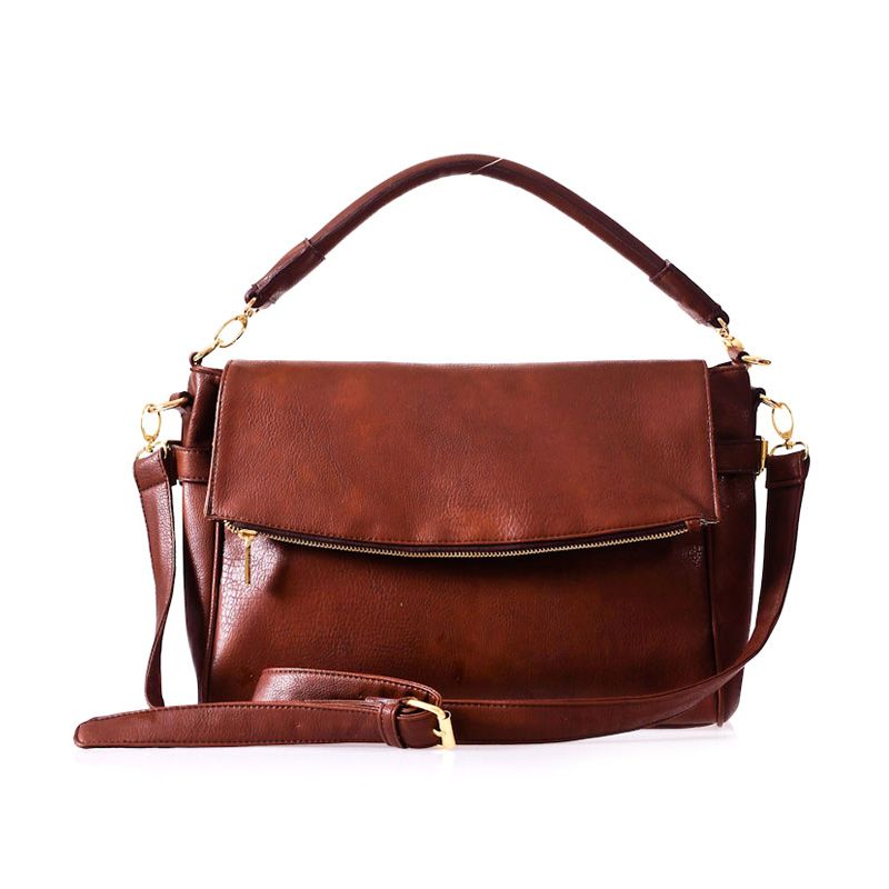 Mayonette Bianka Sling Bag Coffee Tas Selempang