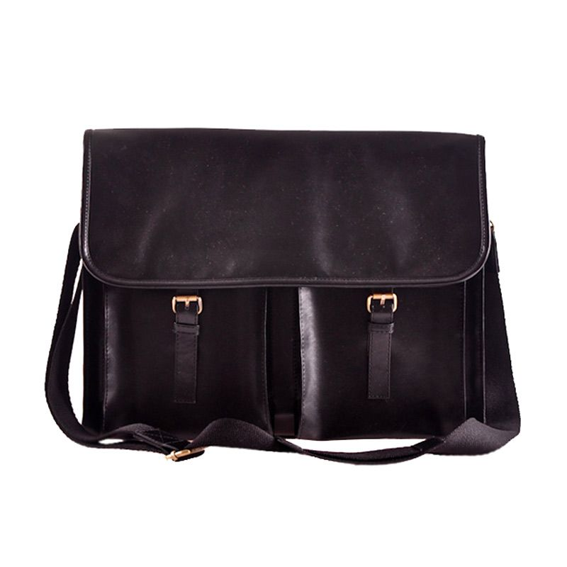 Mayonette Jordan Messenger Black Tas Pria