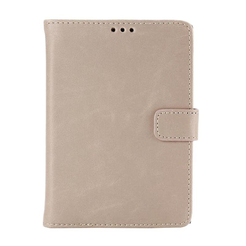 Emco Holster Light Brown Leather Flip Cover  Casing for Blackberry Passport