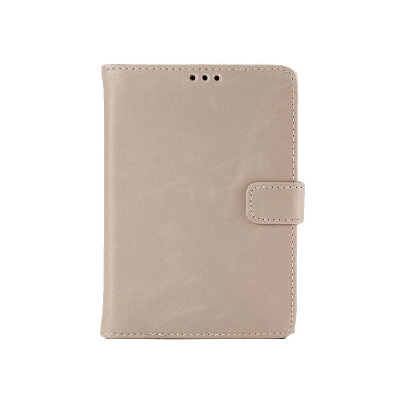 Max Ultra Thin Fit Light Brown Leather Flip Cover Casing for Blackberry Passport