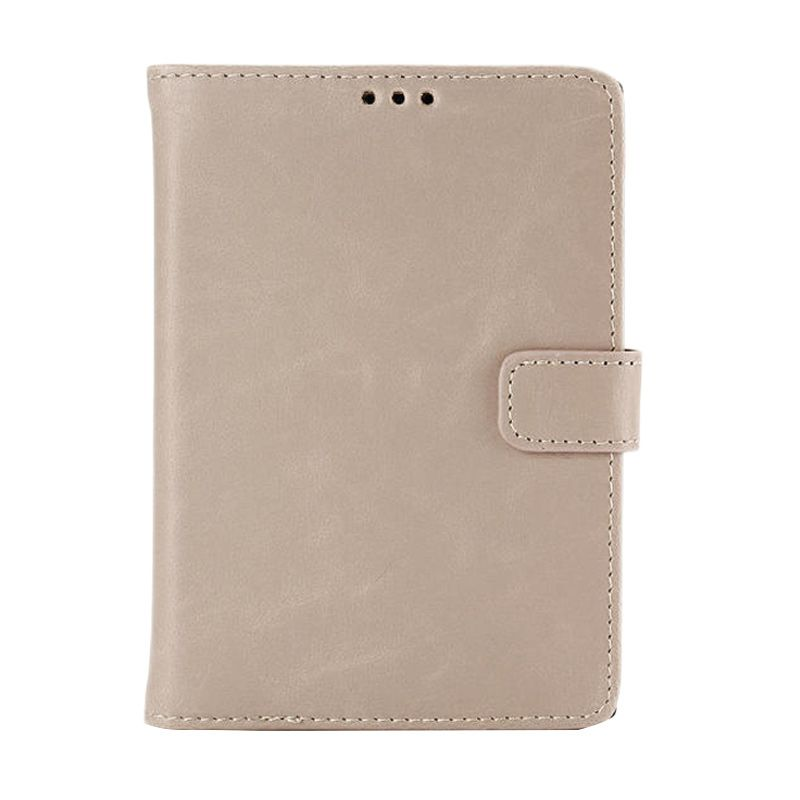 MCO Premium Imported Light Brown Leather Flip Cover Casing for Blackberry Passport