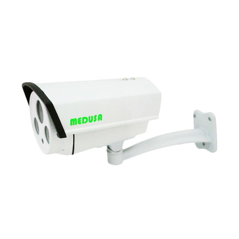 Medusa IPC-N9612L-200W-6MM IP Cam Outdoor Putih Kamera CCTV