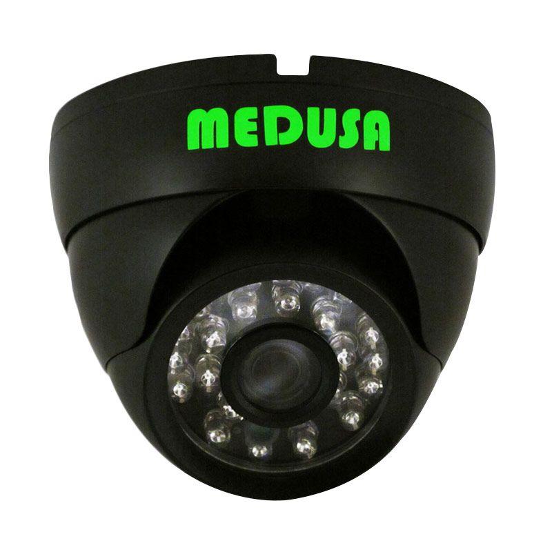 Medusa IPC-N361-130W-3.6MM IP Cam Indoor Hitam Kamera CCTV