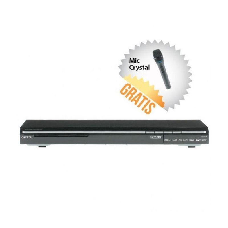 Crystal HDMI 910 Dolby Surround 5.1 Channel DVD Player