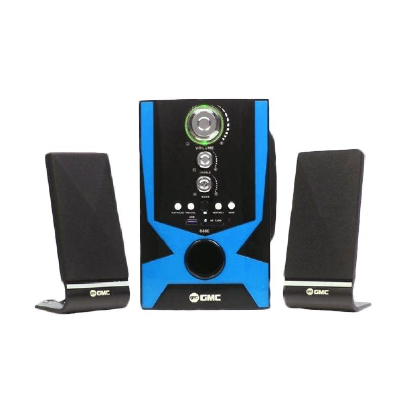 harga GMC 888E Multimedia Speaker - Hitam Home Audio Blibli.com